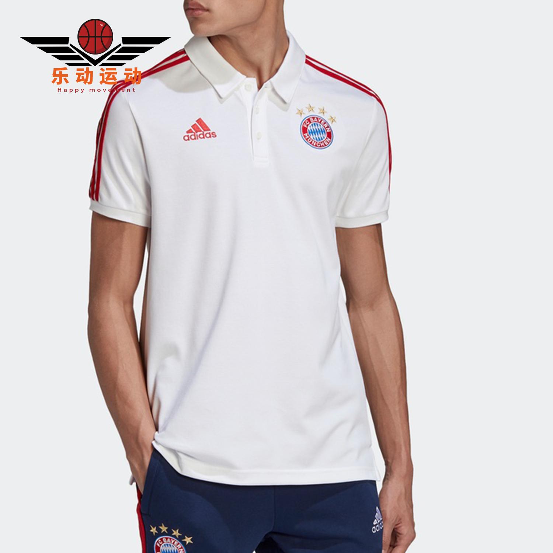 Adidas / Adidas chính hãng FCB 3S POLO nam Bayern bóng đá thể thao POLO áo FR3973 - Áo polo thể thao