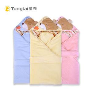 童泰新生儿包被加厚婴儿纯棉抱毯