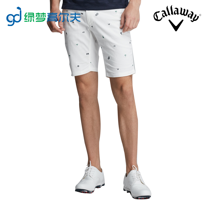 526520e29fc Callaway Callaway Golf clothing pattern printed shorts men s shorts. Zoom · lightbox  moreview · lightbox moreview ...