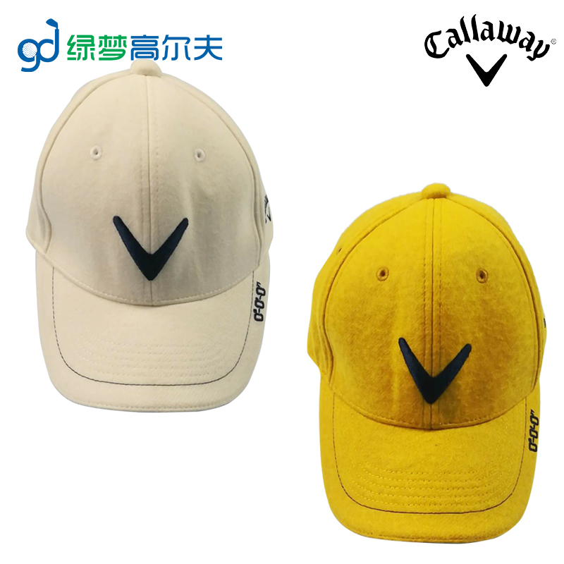 Callaway Golf men s Ball cap with top sun hat outdoor sports fashion thick  cap 1f67fe52bc58