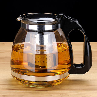304 stainless steel liner teapot set, glass tea set, heat-resistant, high-temperature resistant, explosion-proof tea maker, filter teapot