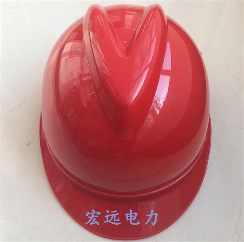 Каска Подлинная мощность сетка строительная каска электрика анти-разбив дышащий шлем, строительными сайта V типа ABS шлем технических