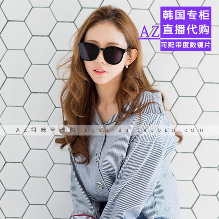 7f99de09212 Gentle monster sunglasses Korea purchasing blue sea GM sunglasses Fan  Bingbing BLACK PETER