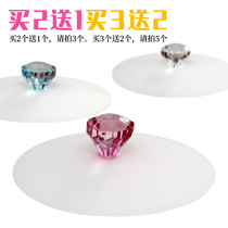 Silicone Cup cover creative leak-proof cup cover environmental protection multi-use sealing cup