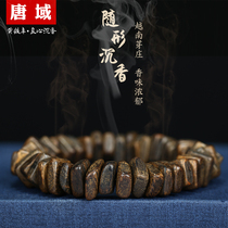 Submerged grade incense hand string natural with shape Vietnam Yazhuag incense Wooden Hand String