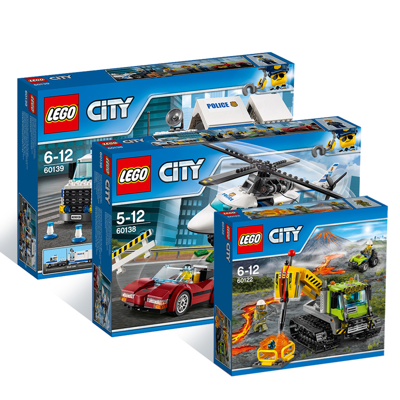 USD 29.56] LEGO city police series high-speed chase 60138 ...