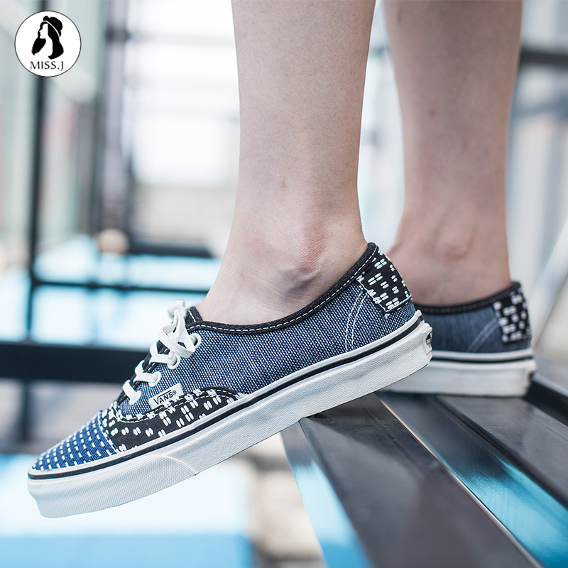 ... King  VANS PATCHWORK blue color matching couple casual shoes  VN0A38EMQ9H ... 3ec29aac2