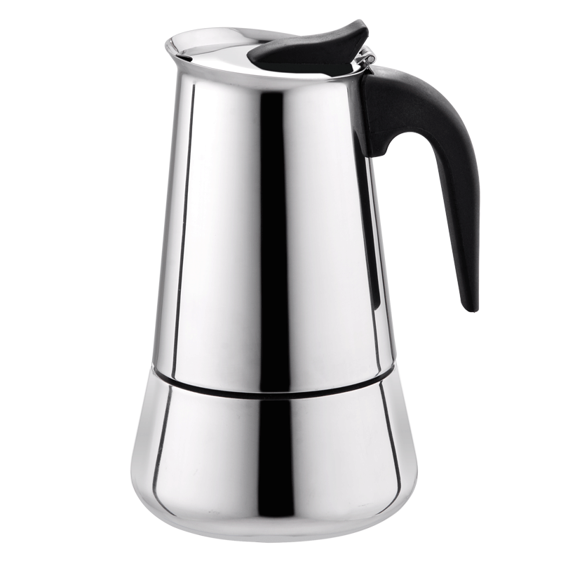 USD 2179 Italian Mocha Pot Hand Drip Coffee Maker Stainless Steel