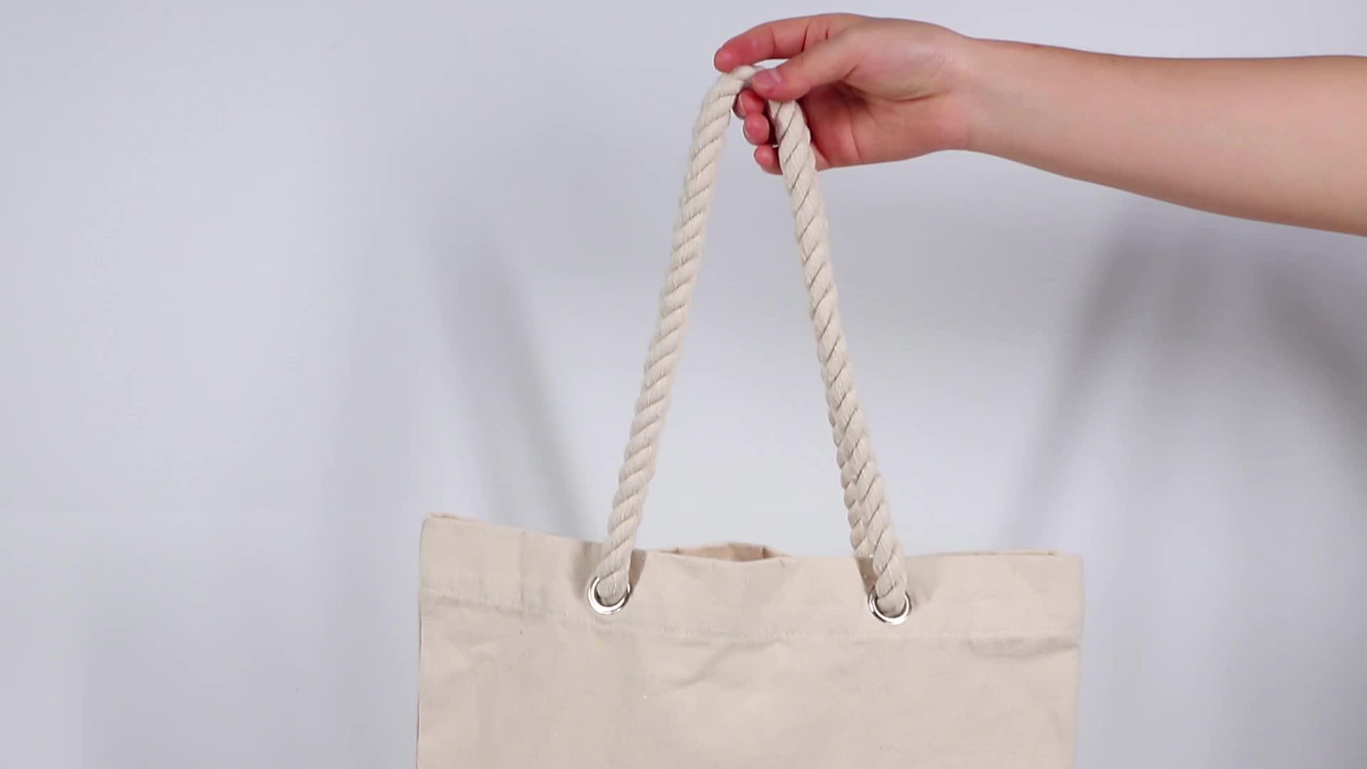 Eco Vriendelijke 100% Blank Katoen Canvas Tassen Bulk Voor Verkoop