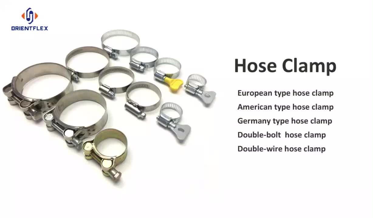 quick release heavy duty adjustable metal 4 worm gear clamp worm style hose clamps