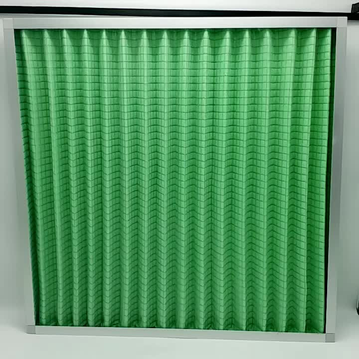 G4 washable panel fiber pre air filter for air conditioner