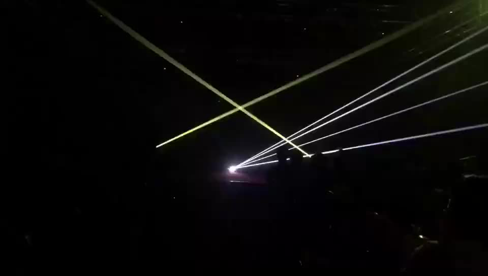 High power stage laser show projector with FB4 DMX ILDA for Disco music festivals