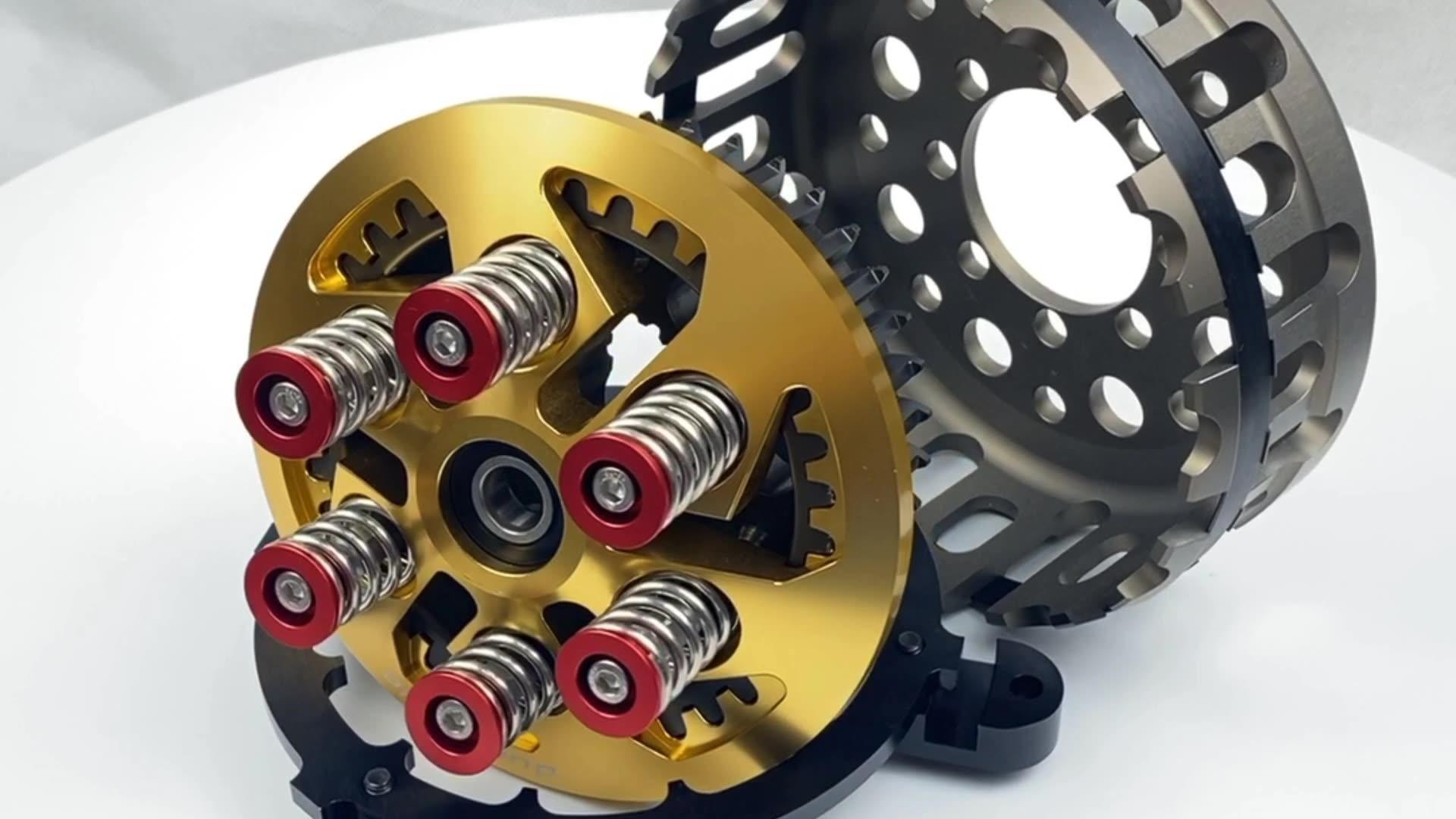 Top de Metal De Usinagem CNC Da Motocicleta Fabricante De Peças Sobressalentes OEM de Alumínio CNC Usinagem de Peças Da Motocicleta Embreagem Seca