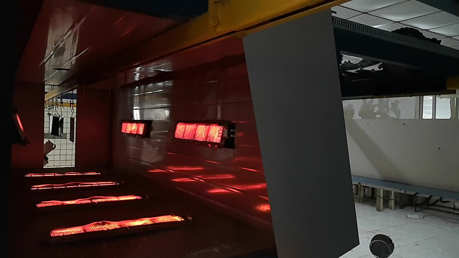 De hierro fundido sin llama infrarrojos catalizador Industrial propano quemador de Gas