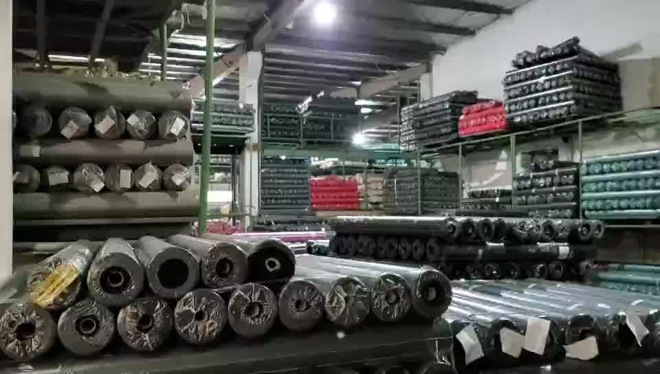 Cina Pabrik Grosir Polyester Tahan Air 600D Kain Oxford PVC Lapisan PU untuk Tas Bagasi And Outdoor Products
