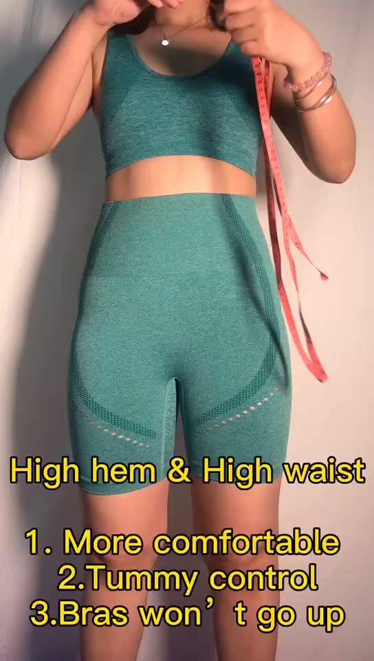 Новая женский комплект 2 шт. Спортивная одежда для йоги, женская спортивная одежда, сексуальные спортивные комплекты одежды для фитнеса, спортивная одежда от производителя