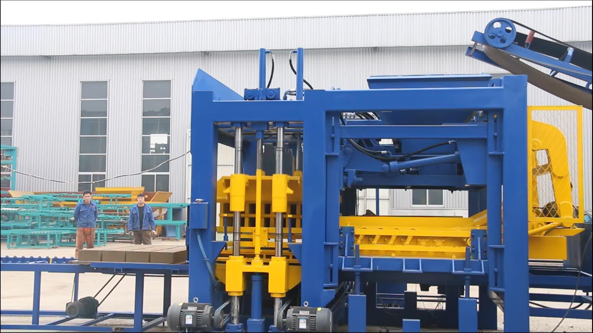T15-15 完全自動コンクリートブロック製造機の価格リスト