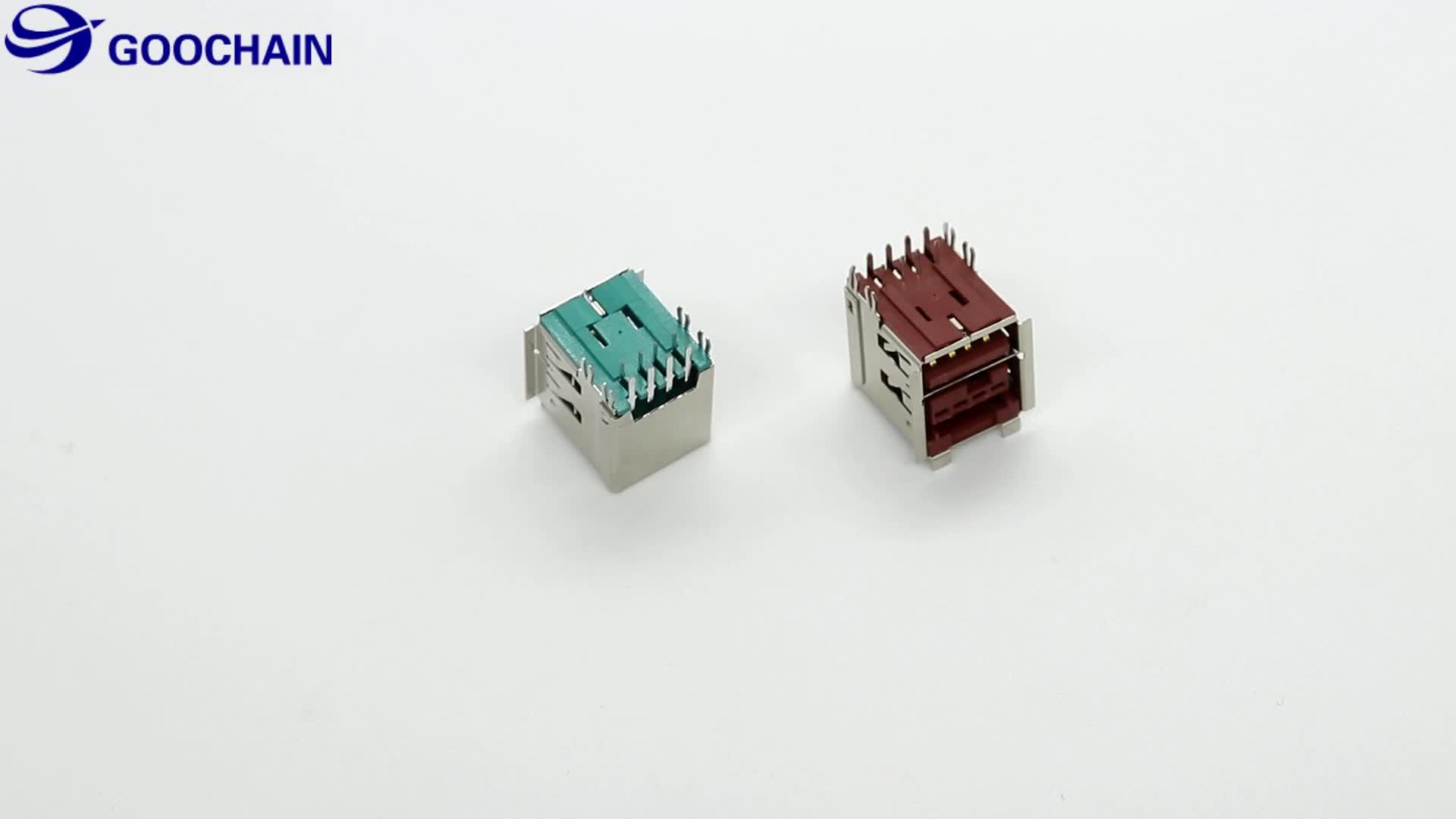 Injeksi 2x4pin Didukung USB Male untuk 12V Power USB Kabel Ekstensi Pria untuk POS Printer IBM
