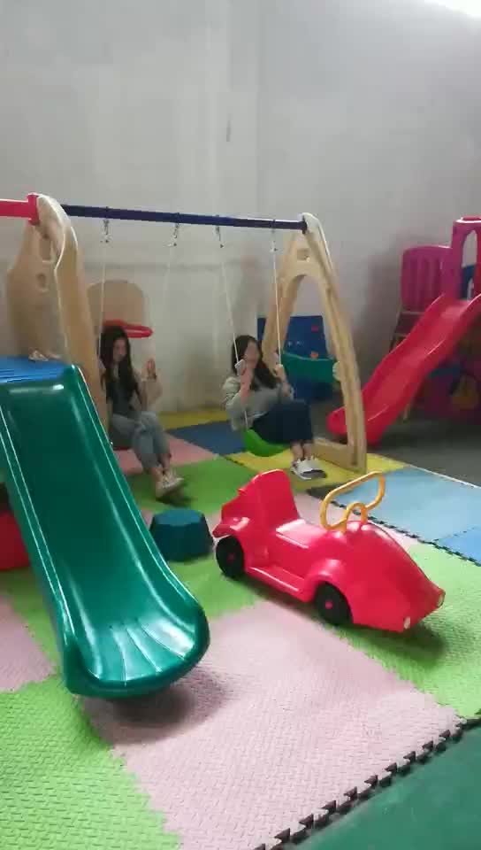 Hot Selling  and Fashionable  playground equipment with slide indoor and outdoor playground for kidsHFC-16801