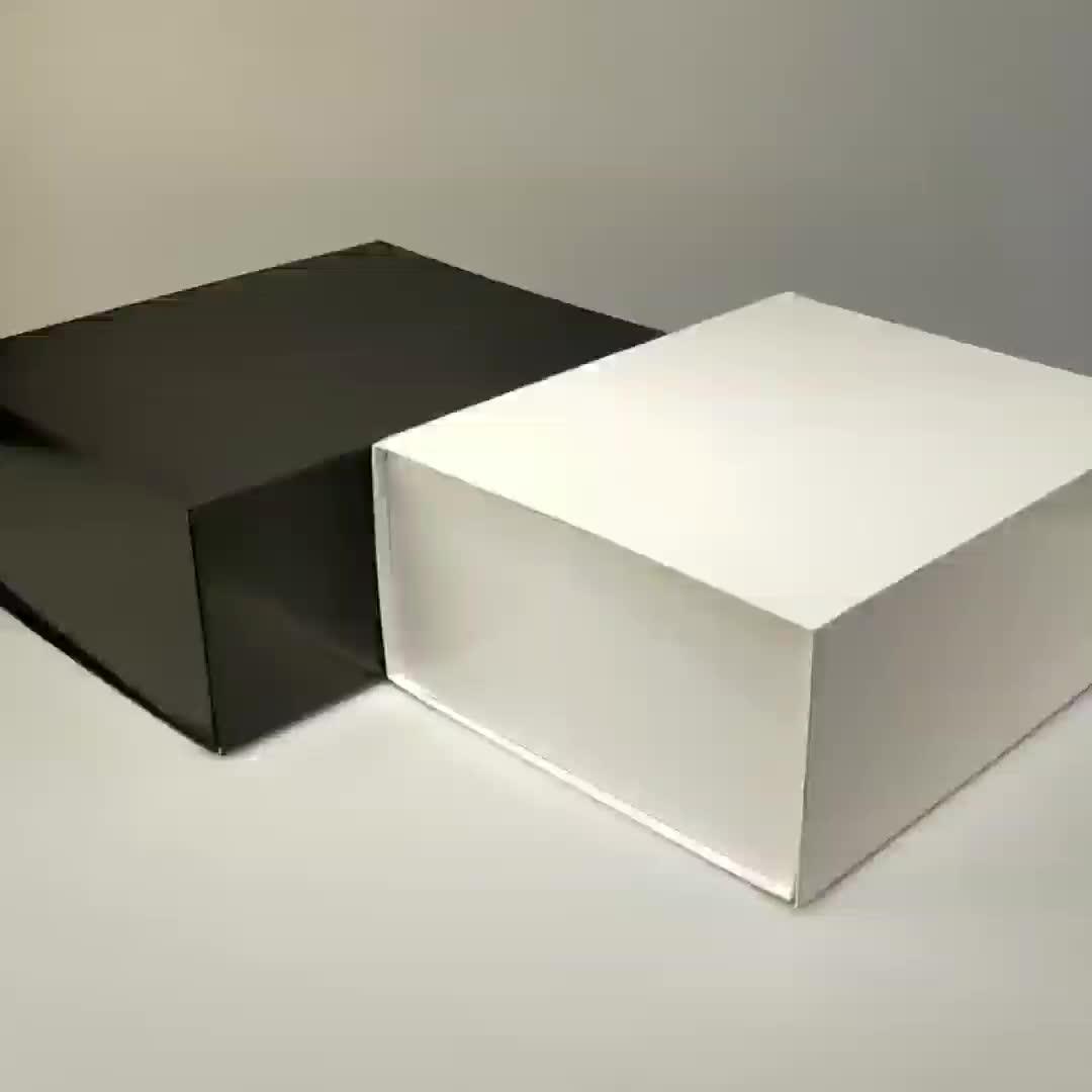 Commercio all'ingrosso Personalizzata pieghevole abbonamento doccia favori contenitore di regalo di imballaggio
