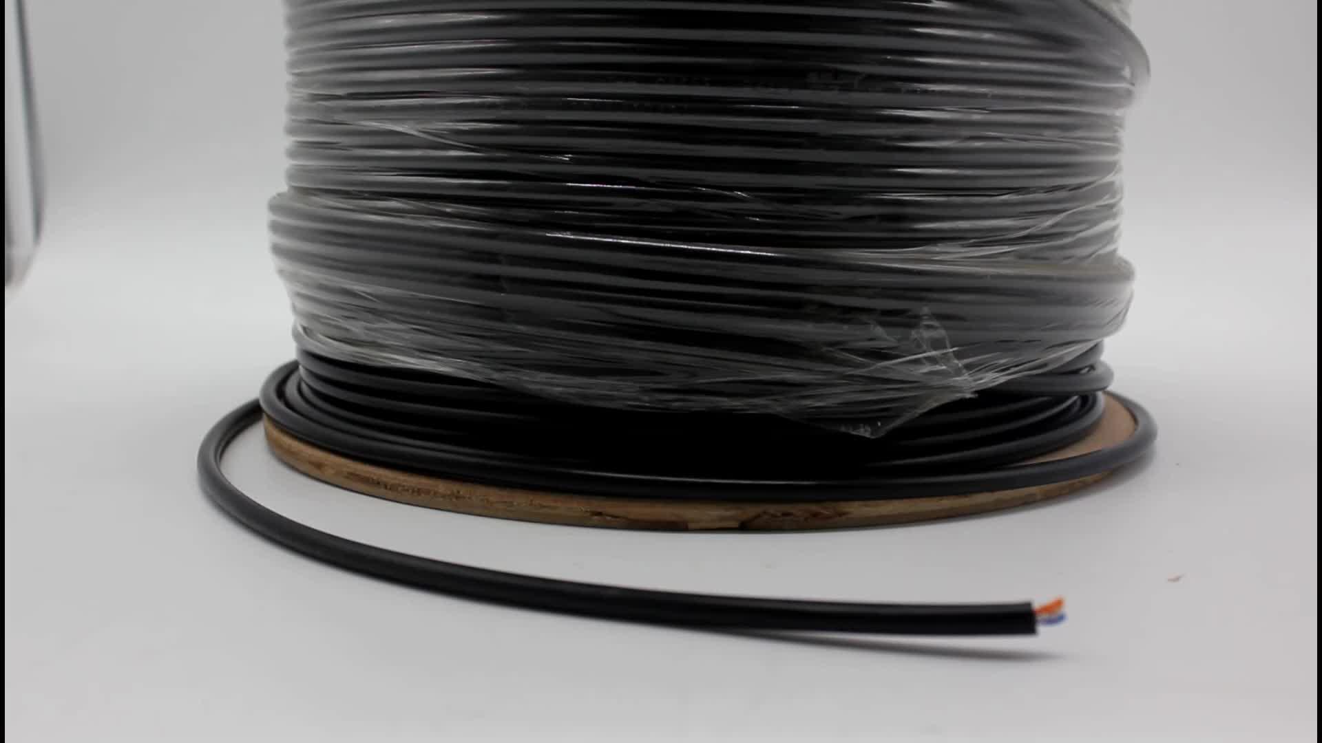 Aixton CAT6 FTP 23AWG 0,56mm Reinem Kupfer PVC + PE Doppel mantel 100m preis katze 6 außen kabel