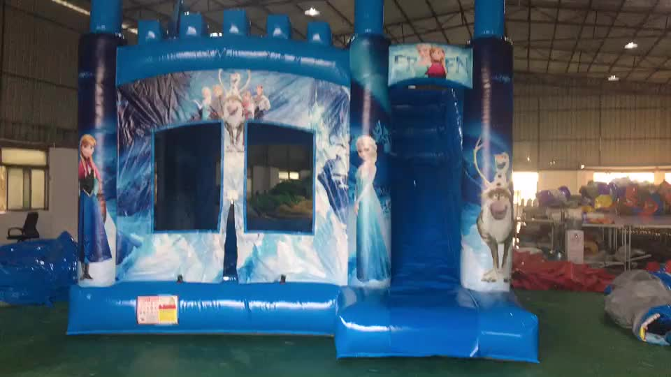 cheap Inflatable bounce house combo for sale/inflatable catsle slide for kids