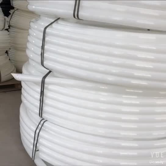 Uluslararası standart 18 yıllık deneyimler özelleştirilmiş sert HDPE elektrik isale borusu