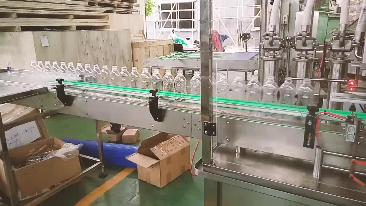 Shanghai manufacturer crazy price high quality 4 filling gates full automatic honey stick filling machine /honey