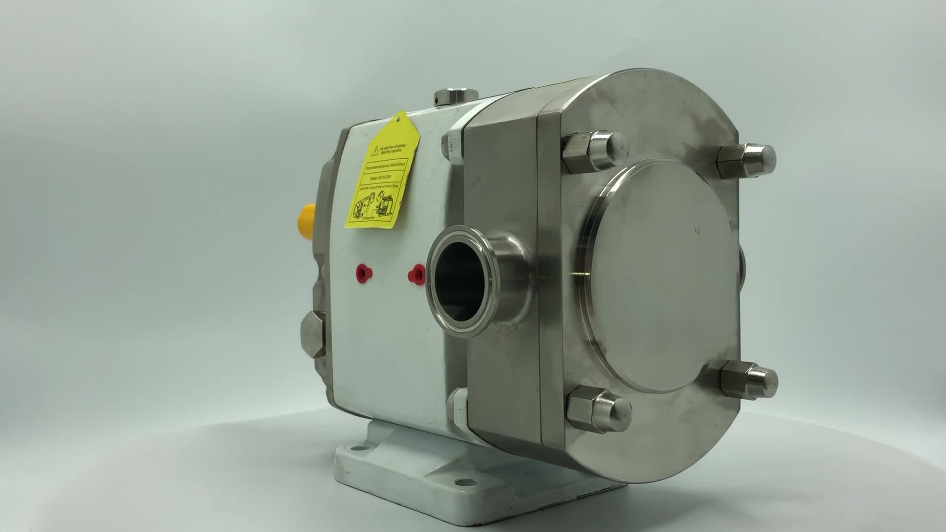 DONJOY sanitary stainless steel Rotary Lobe Cam Pump for honey and food