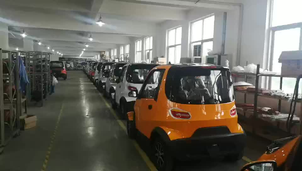 L6e/L7e 도시 사용 4 휠 전기 새로운 자동차 EEC COC 증명서를 새로운 에너지 미니 전기 자동차 만든 중국