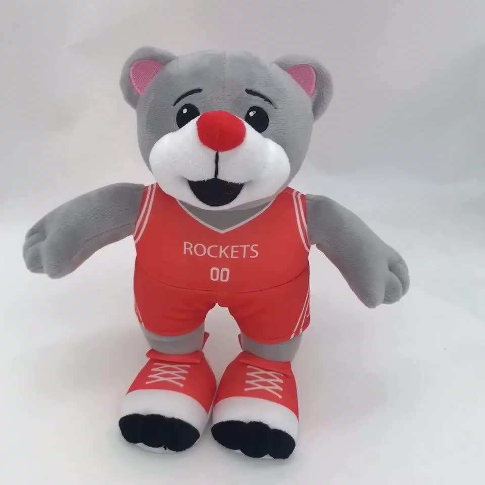 Personalizado de peluche de juguete para la promoción lindo suave de la felpa de peluche de Navidad de santa claus