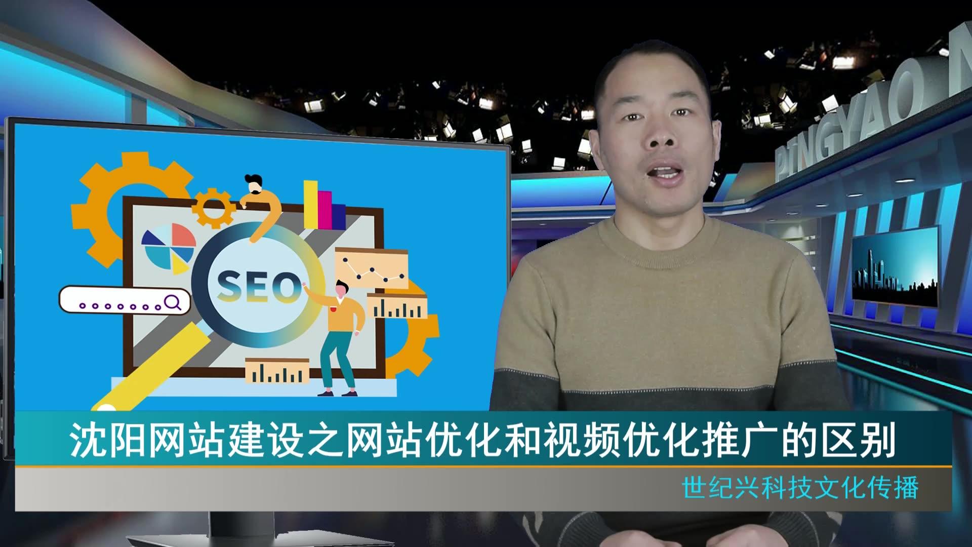 沈阳网站建设之网站优化和视频优化推广的区别