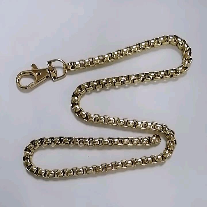 De nuevo diseño bolsos hardware de metal de oro cadena bolso correas para bolsos