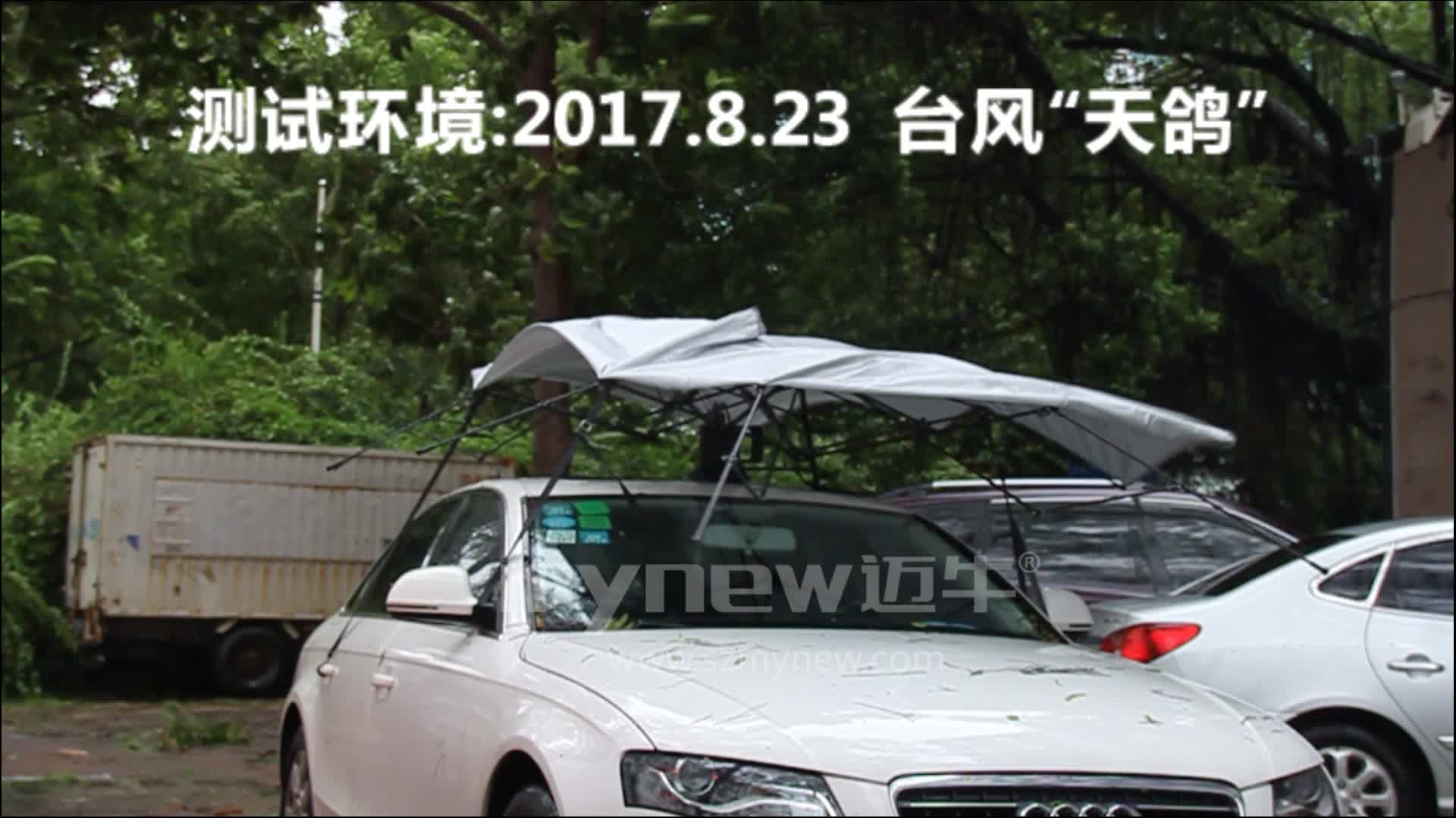 2019 New arrival portable car protection  4.2 Meters Automatic 2in 1 Mynew special tents Manual car sun Umbrella car accessories