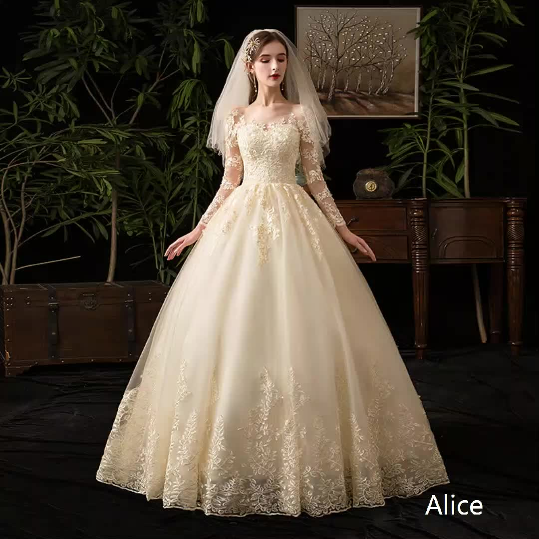 marriage dress  for  bridal dress  wedding dress tailor  empare princess style ball gown wedding  dresses