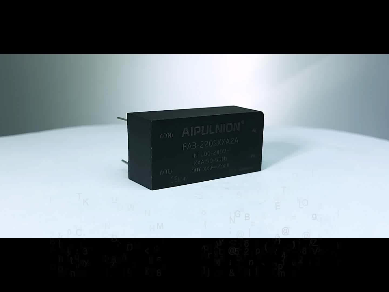 3 Вт ac к dc понижающий преобразователь 220vac до 5V печатного монтажа блок питания