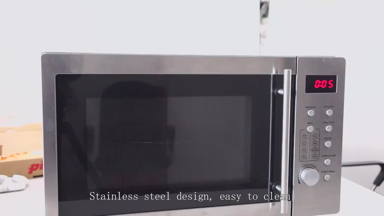 21L microwave oven commercial with led display