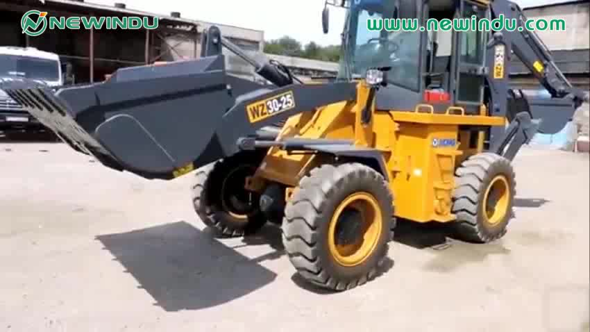 XCMG Front end loader price Mini Backhoe loader machine XT870