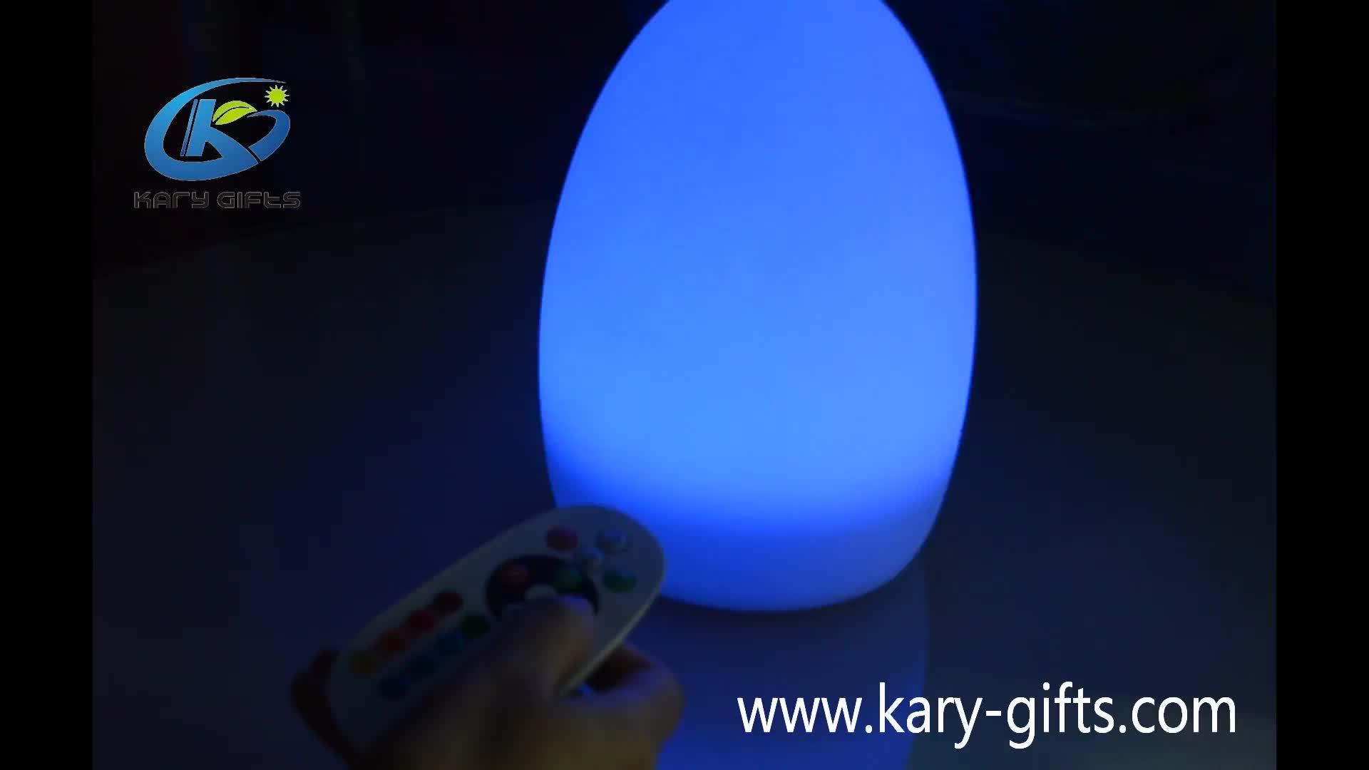 Şarj edilebilir Renkli Led Noel Lav Işık Plastik Led Açık Masa Lambası