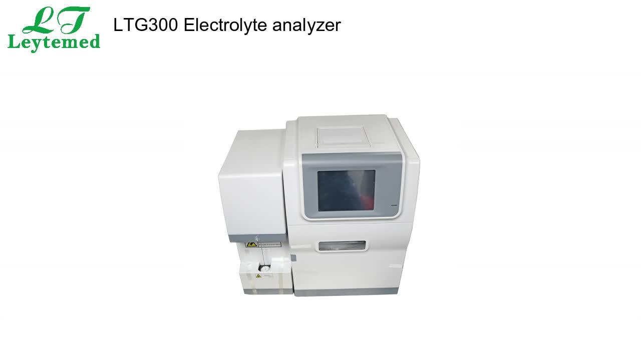 LTG300 sangue completamente automatizzato analizzatore di elettroliti