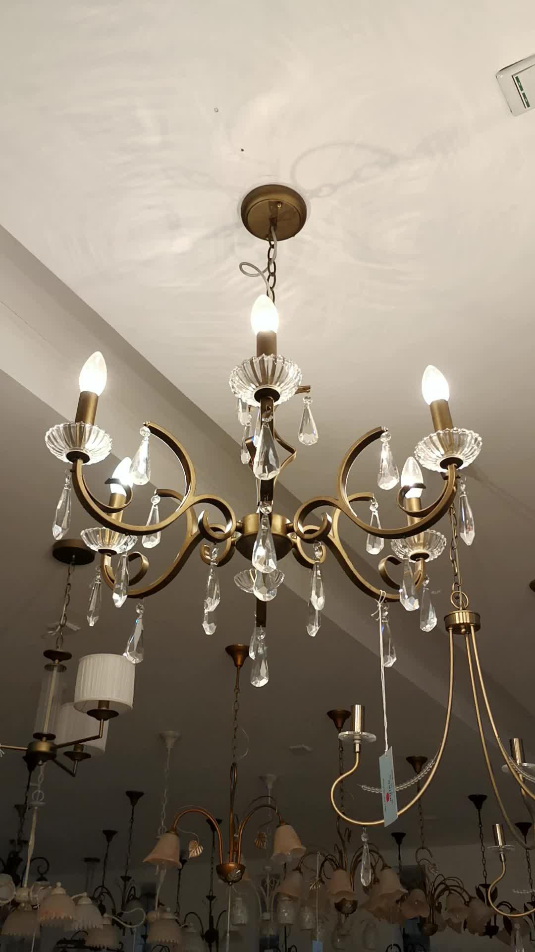 Top Sale Contemporary E14 Luxury Crystal Chandelier