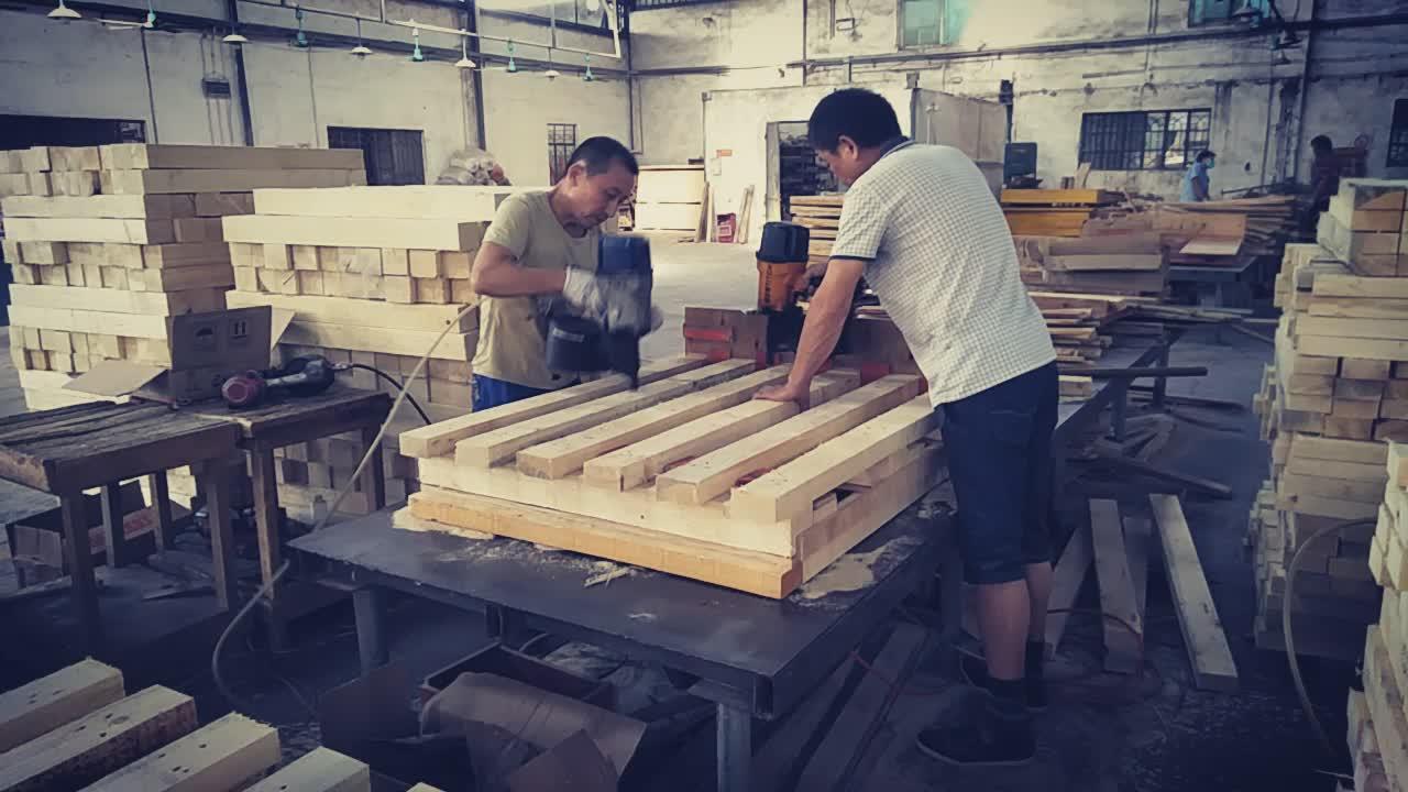 Heat Treatment Eu Epal Wooden Pallet/ Euro Pine Wooden ...