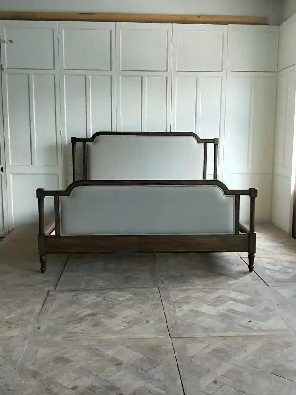 네 post 코너 티크 퀸 size 침대 designs 합판 침대