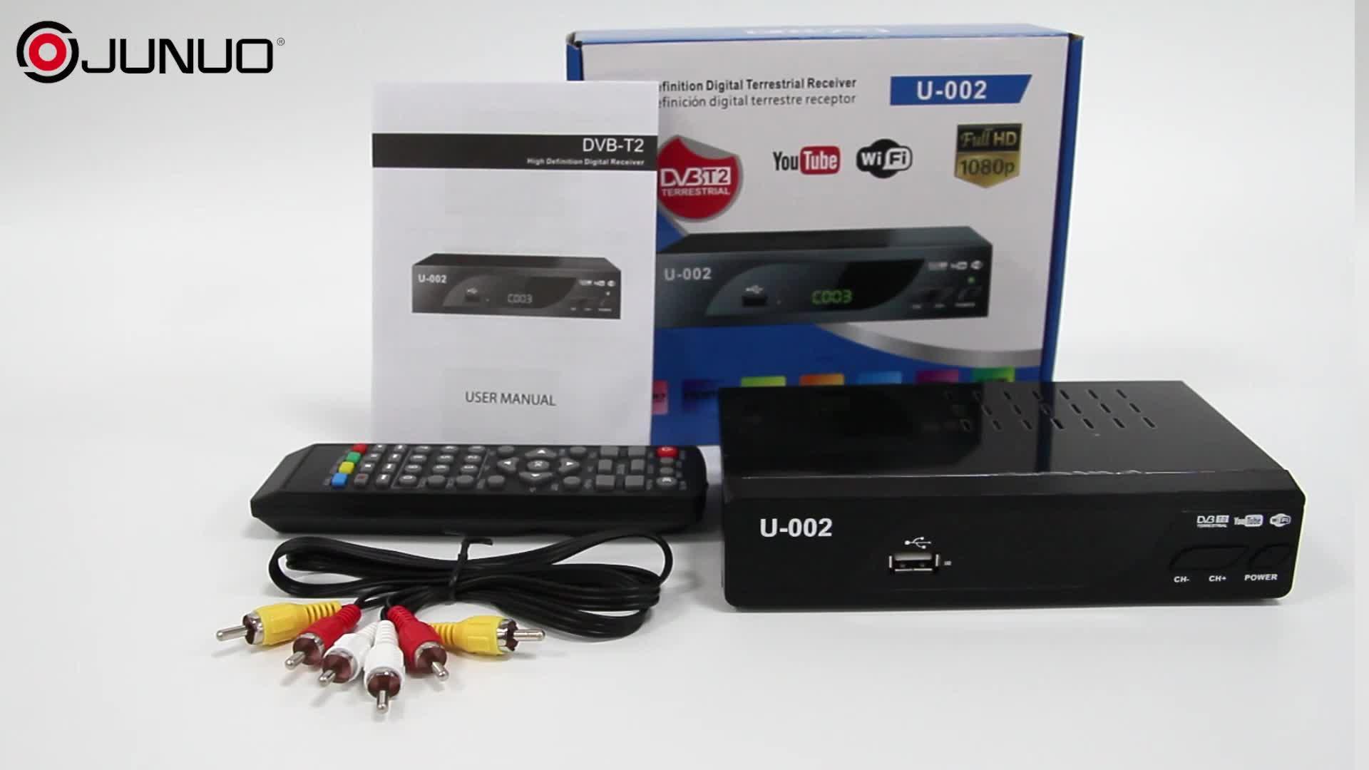 Heißer Verkauf Multi-Sprache sunplus 1509c Dvb T2 Digital Tv Receiver verbinden mit TV