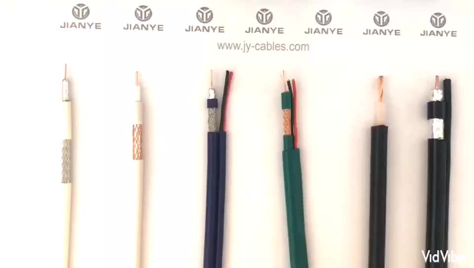 Factory Supply for Camera Siamese cctv Coaxial Cable RG59 With 2c cable hdmi security cable