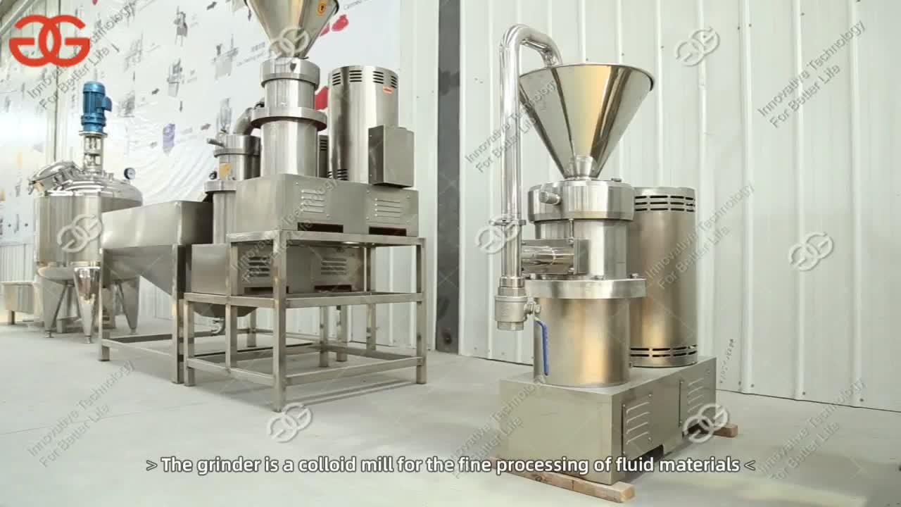 Hot Sale 800 kg/h Shea Nut Butter Making Machine