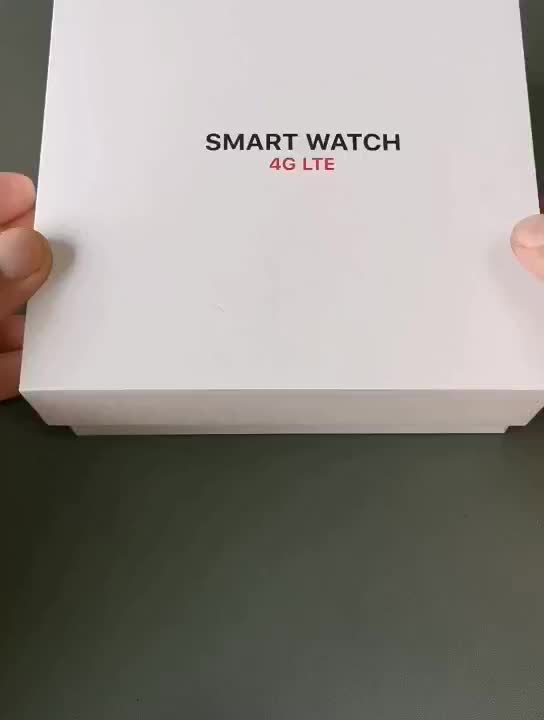 Newest Sim Card Built Programmable 4G Smart Watch DM20  With Voice sending and wifi connect