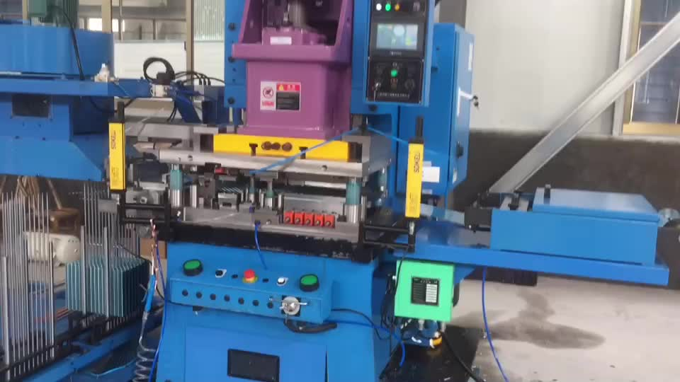 C type Fully-automatic High Speed Fin Press Machine