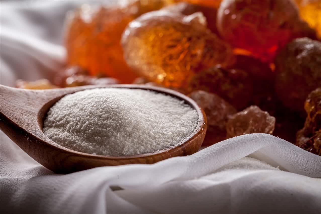 raw gum arabic Sudan spray dried gum arabic powder