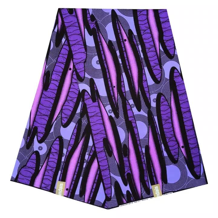 100% Cotton 2020 Fashion Hollandais Dutch African Wax Fabric For Dress